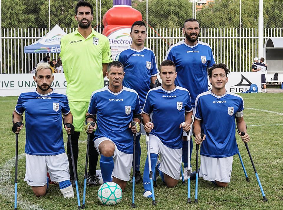 Calendario Nazionale Italiana Calcio.Calcio Amputati Fispes