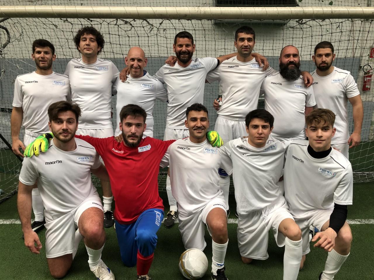 Calendario Partite Barcellona.L Italia Del Calcio A 7 Al Torneo Di Barcellona Fispes