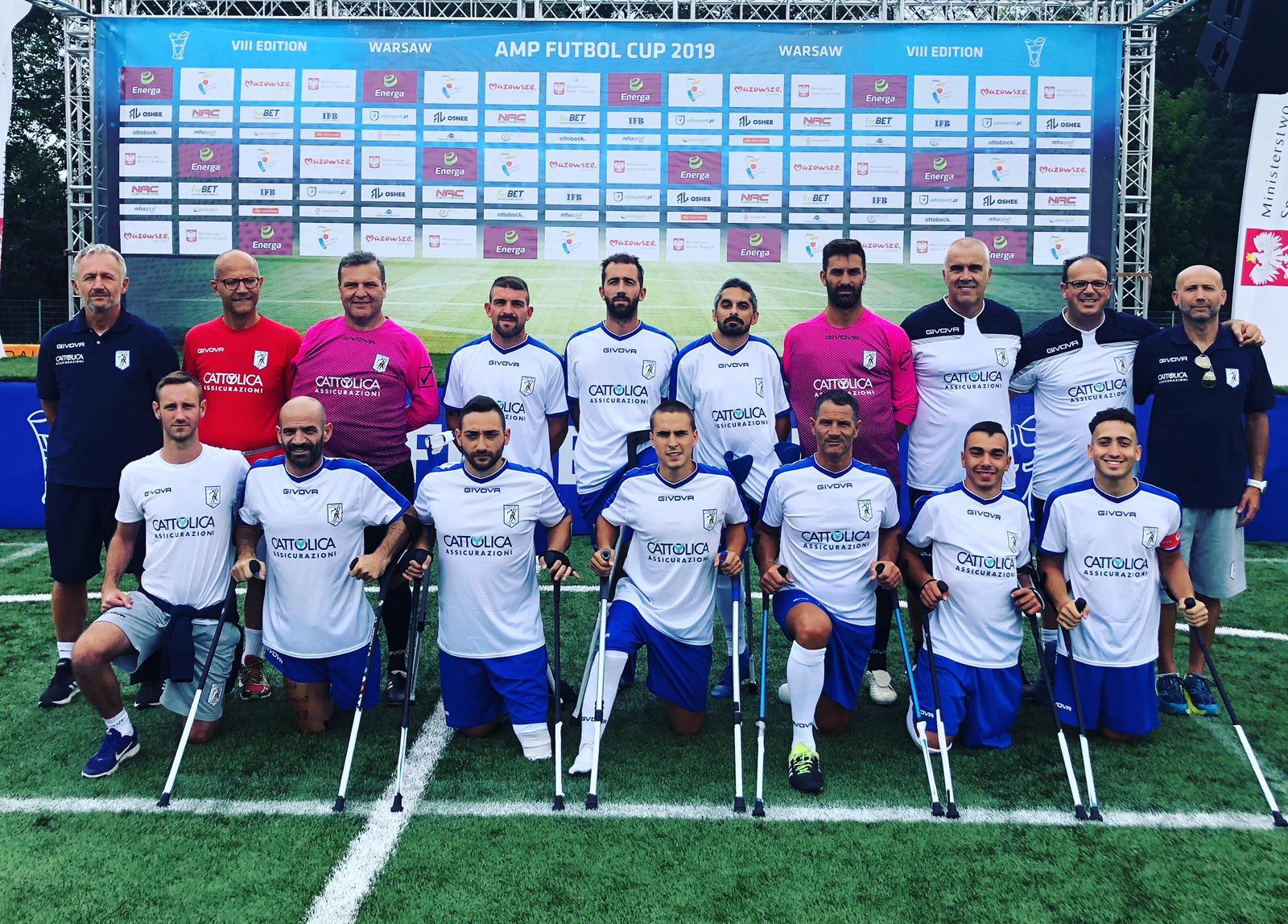 Calendario Nazionale Calcio.Calcio Amputati Fispes